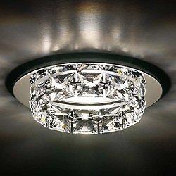Ringlet 1-Light Crystal Recessed Trim