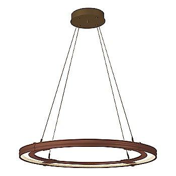 Mahogany FInish / Bronze Accent Finish / Large Hanging Length