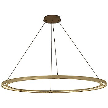 Gold FInish / Bronze Accent Finish / Standard Hanging Length