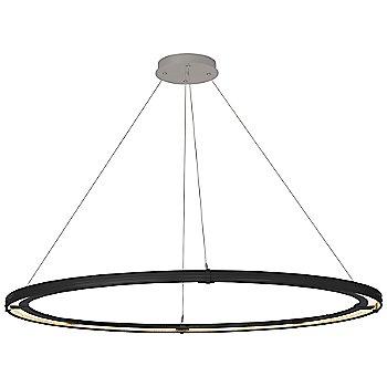 Black Finish / Burnished Steel Accent Finish / Standard Hanging Length