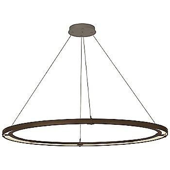 Bronze FInish / Dark Smoke Accent Finish / Standard Hanging Length