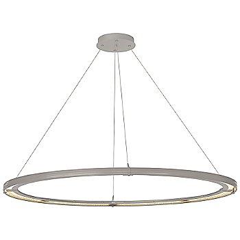 Burnished Steel FInish / Vintage Platinum Accent Finish / Standard Hanging Length