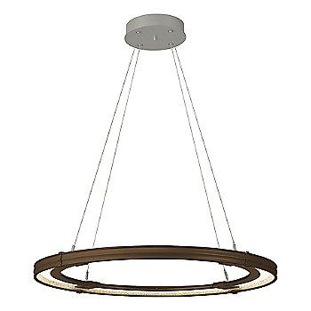 Bronze FInish / Natural Iron Accent Finish / Large Hanging Length