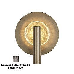 Solstice Wall Sconce (Burnished Steel) - OPEN BOX RETURN