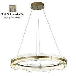 Solstice LED Pendant Light (Soft Gold) - OPEN BOX RETURN