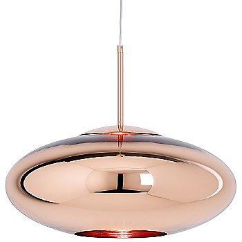 Copper finish, illuminated