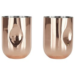 Plum Moscow Mule Mug - Set of 2