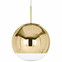 Mirror Ball Pendant Light (Gold/19.7) - OPEN BOX RETURN