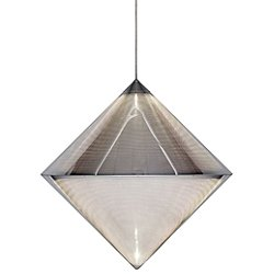 Silver Top Pendant Light