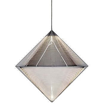 Silver Top Pendant Light by Tom Dixon