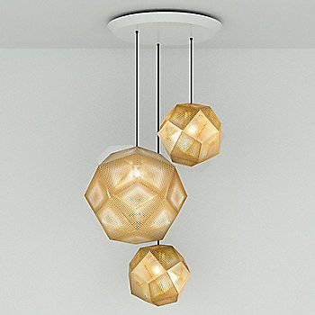Etch Trio Round Multi-Light Pendant