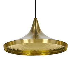 Beat Wide Pendant Shade (Brushed Brass) - OPEN BOX RETURN