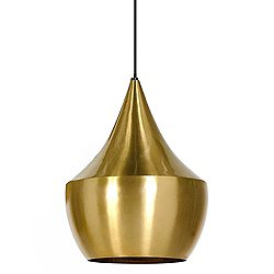 Beat Fat Pendant Shade (Brushed Brass) - OPEN BOX RETURN