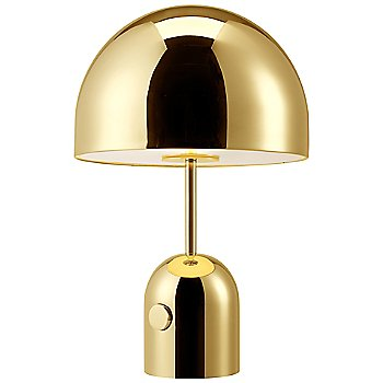 Shown lit in Brass finish / Small size