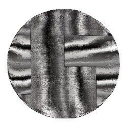 Stripe Round Rug