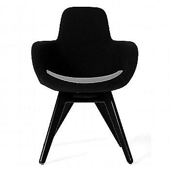 Steelcut Trio Black & White color / Black Legs