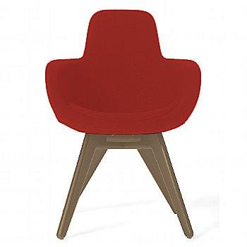 Hallingal Dark Red color / Brass Legs