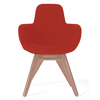 Remix Red color / Copper Legs