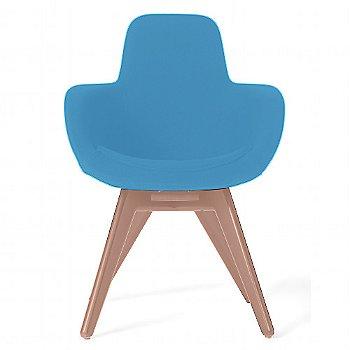 Remix Light Blue color / Copper Legs