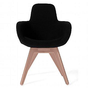 Steelcut Trio Black color / Copper Legs