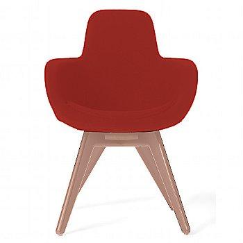 Hallingal Dark Red color / Copper Legs