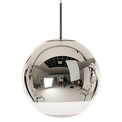 Mirror Ball Pendant Light (Chrome/19.7 in) - OPEN BOX RETURN