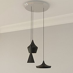 Beat 3 Light Multipoint Pendant