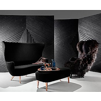Wingback Family with Copper Bar Accessories