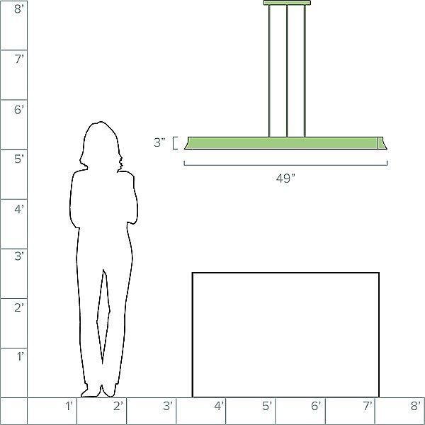 Zhane Linear Suspension Light