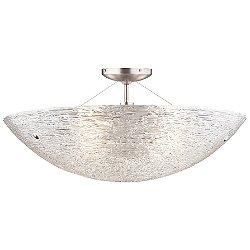 Trace Semi-Flushmount Ceiling Light
