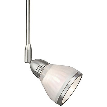 Shown in Satin Nickel finish (shade sold separately)