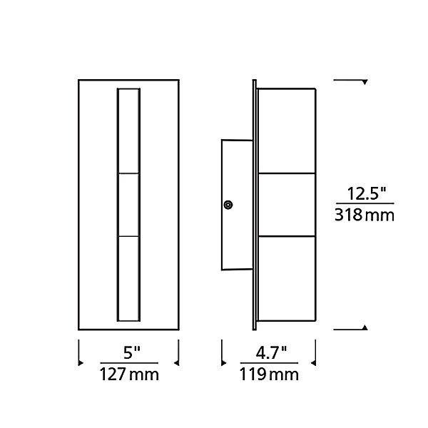 Lyft 12 Outdoor LED Wall Light