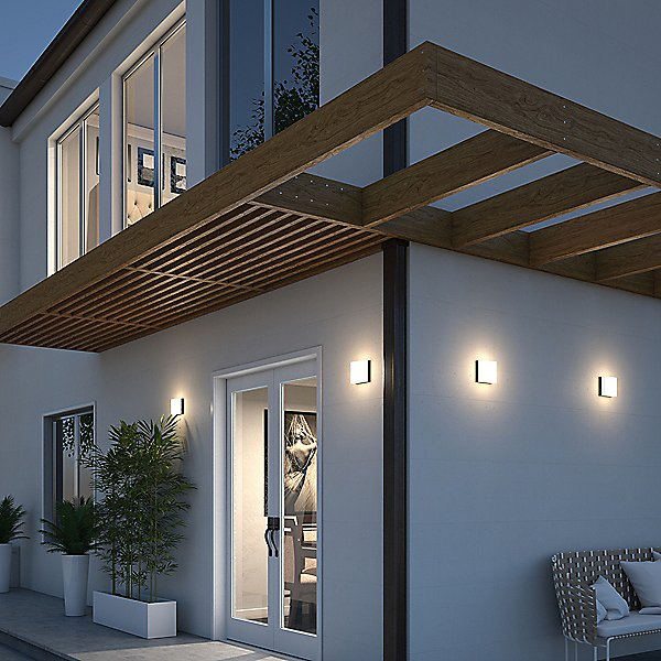 Boxie Outdoor Wall / Ceiling Light