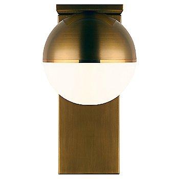 Aged Brass finish / mounted up