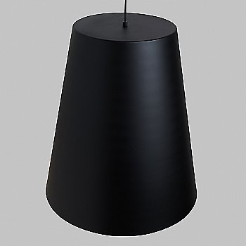 Shown unlit in Black with Satin Gold interior finish