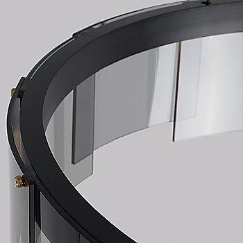 Smoke and Black finish / Detail view