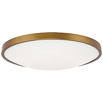 Aged Brass finish / 13-Inch size, not illuminated