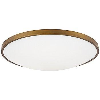 Aged Brass finish / 18-Inch size, not illuminated