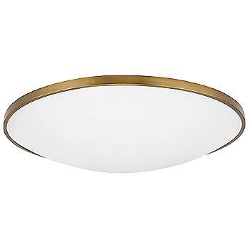 Aged Brass finish / 24-Inch size, not illuminated