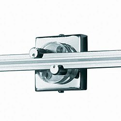 2 in. Square Power Feed Canopy Wall MonoRail