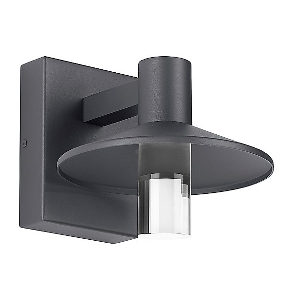 Ash Cylinder Outdoor Wall Light