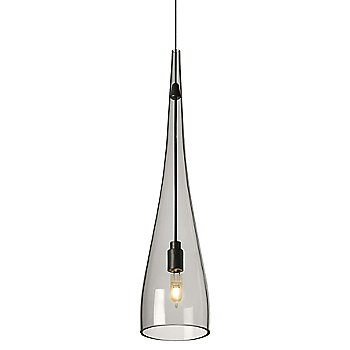 Shown in Transparent Smoke shade with Antique Bronze finish, Small size