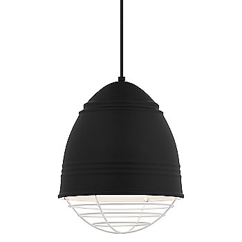 Shown in Rubberized Black with White Interior with White option