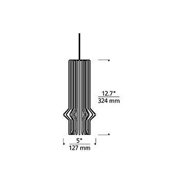 Mini-Syrma Pendant Light