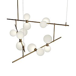 ModernRail Geometric Linear Suspension Light