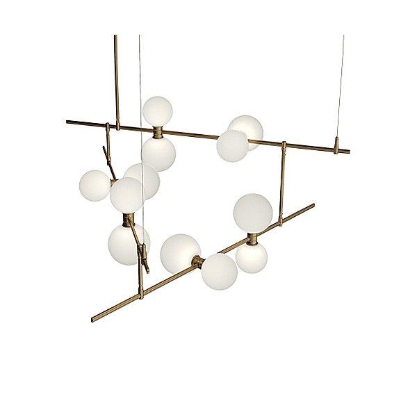 ModernRail Geometric Linear Suspension Light