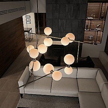 Glass Orbs / illuminated / in use