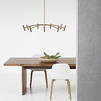 Medium size / Aged Brass finish / in use