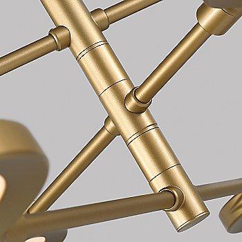 Satin Gold finish / Detail view