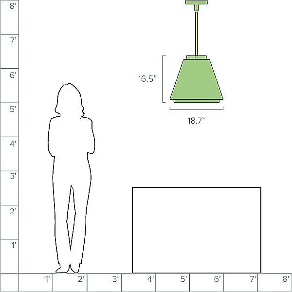 Bowman Outdoor Pendant Light